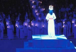 La celebrazione di Santa Lucia in Svezia