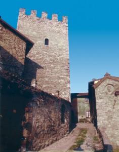 La torre del castello di Grumello