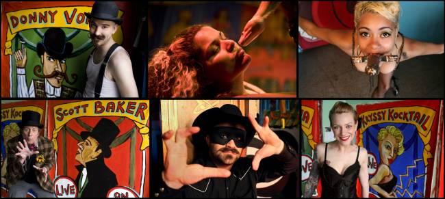 I personaggi freak di Coney Island.