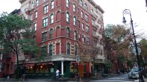 Un angolo del Greenwich Village.