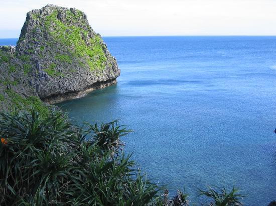 Il mare di Hokinawa, Giappone.