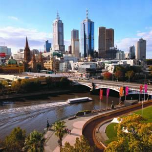Melbourne in Australia.