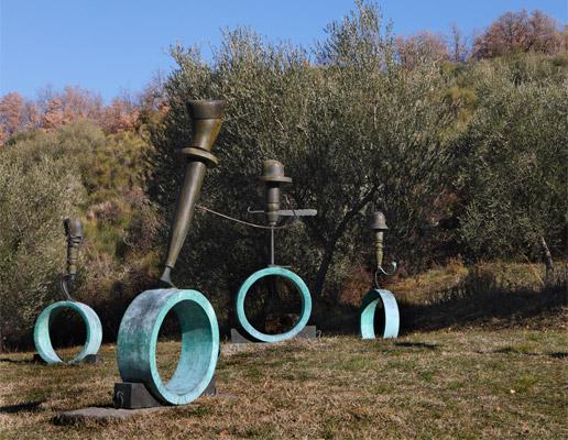 Il giardino di daniel spoerri luogo incantato della toscana blog per viaggiatori - Giardino di daniel spoerri ...