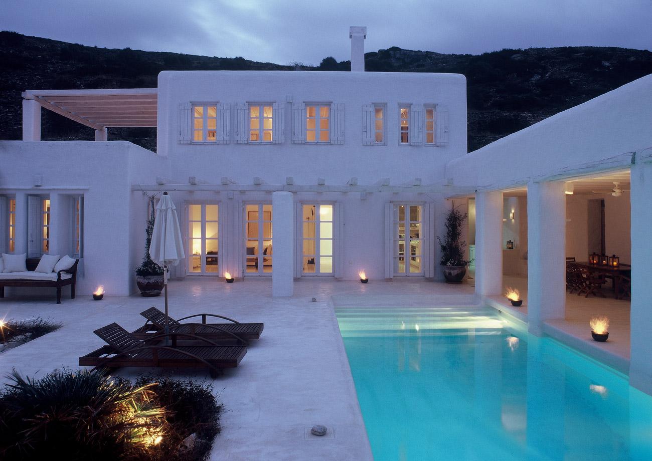 Isole della grecia in villa deluxe con gli amici almeno - Foto ville con piscina ...