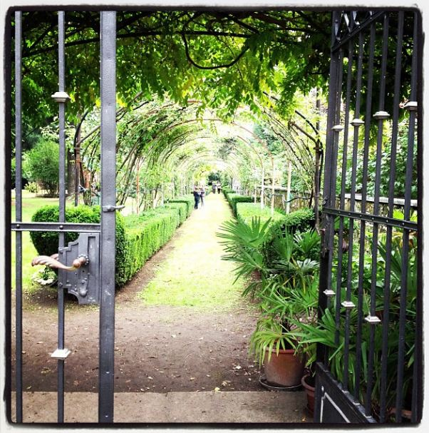 Il giardino di Palazzo Azzolini