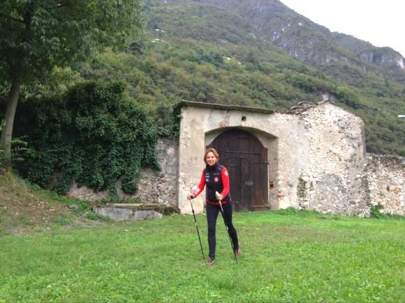 Nordic walking con Valentina Lanz