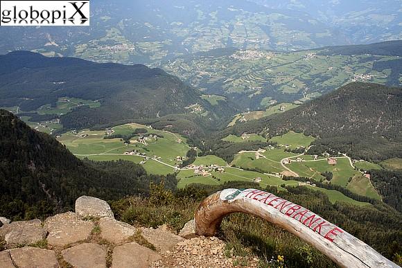 Sedia delle streghe - Alpe di Siusi