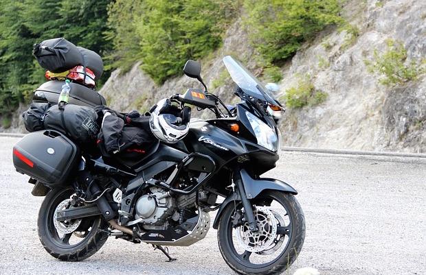 come viaggiare in moto