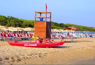 Campeggi sul mare Cagnano