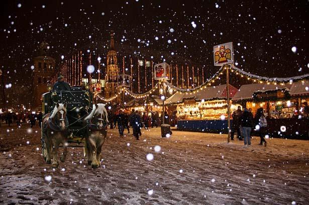 mercatini di Natale in campeggio