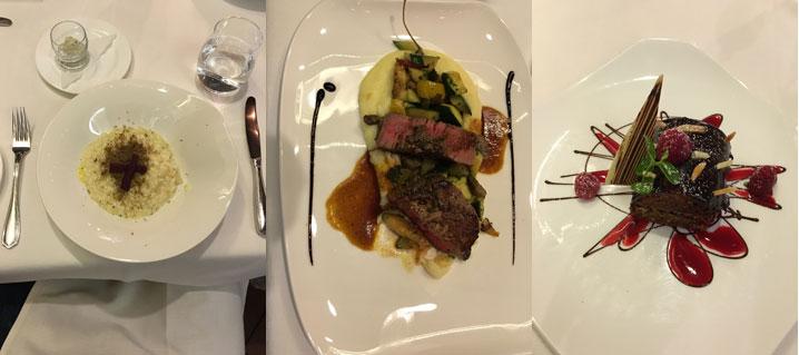 La mia cena all'Oste Scuro di Bressanone