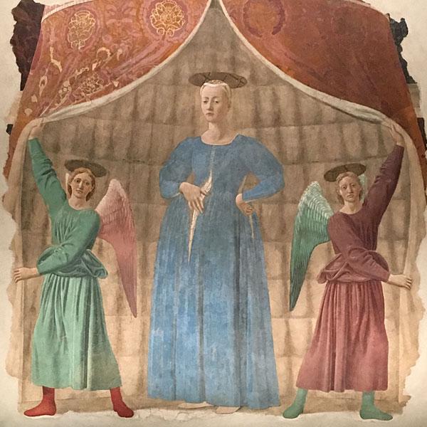 Madonna del parto a Monterchi