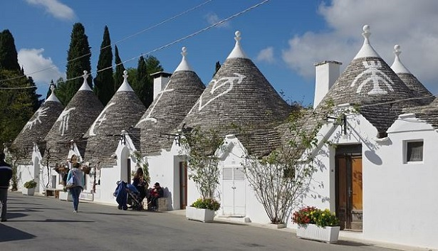 Alberobello e i trulli