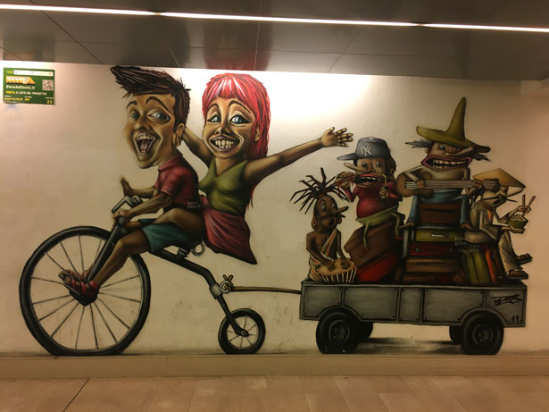 murales a Milano