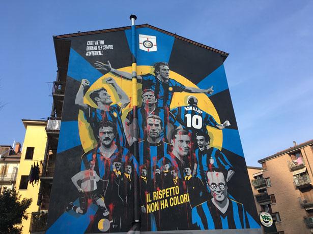 murales Inter Milano
